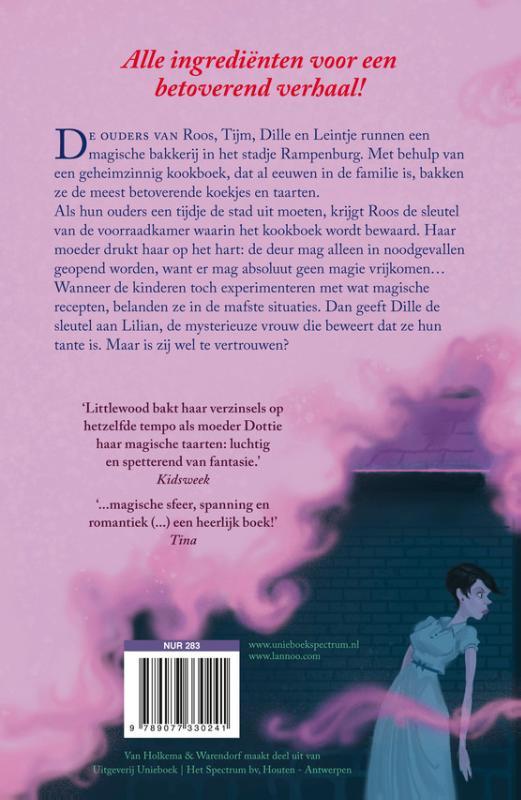 Het magische receptenboek van Bakkerij Bliss COVwt gebonden def.