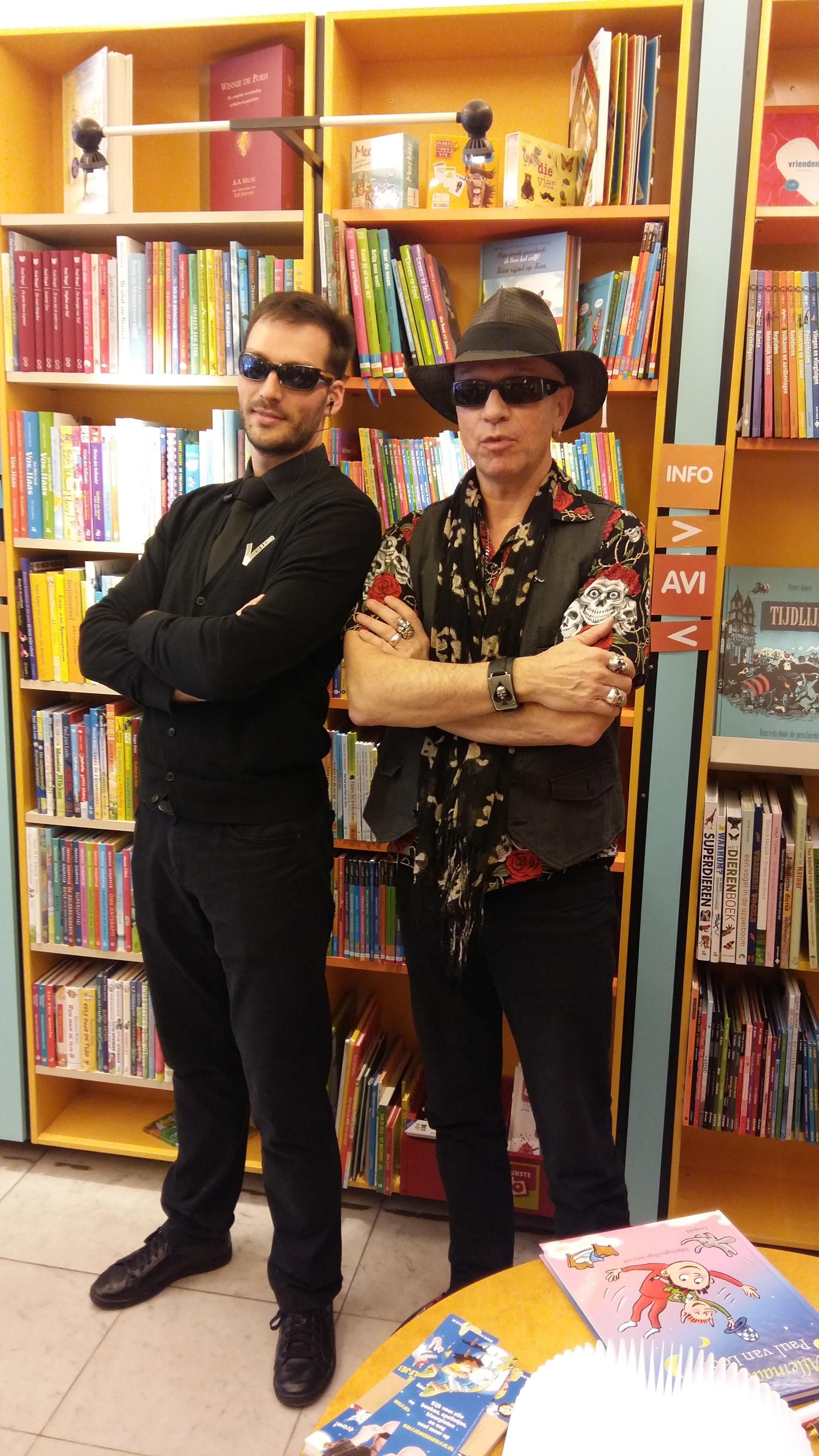 Paul van Loon in de Kinderboekwinkel