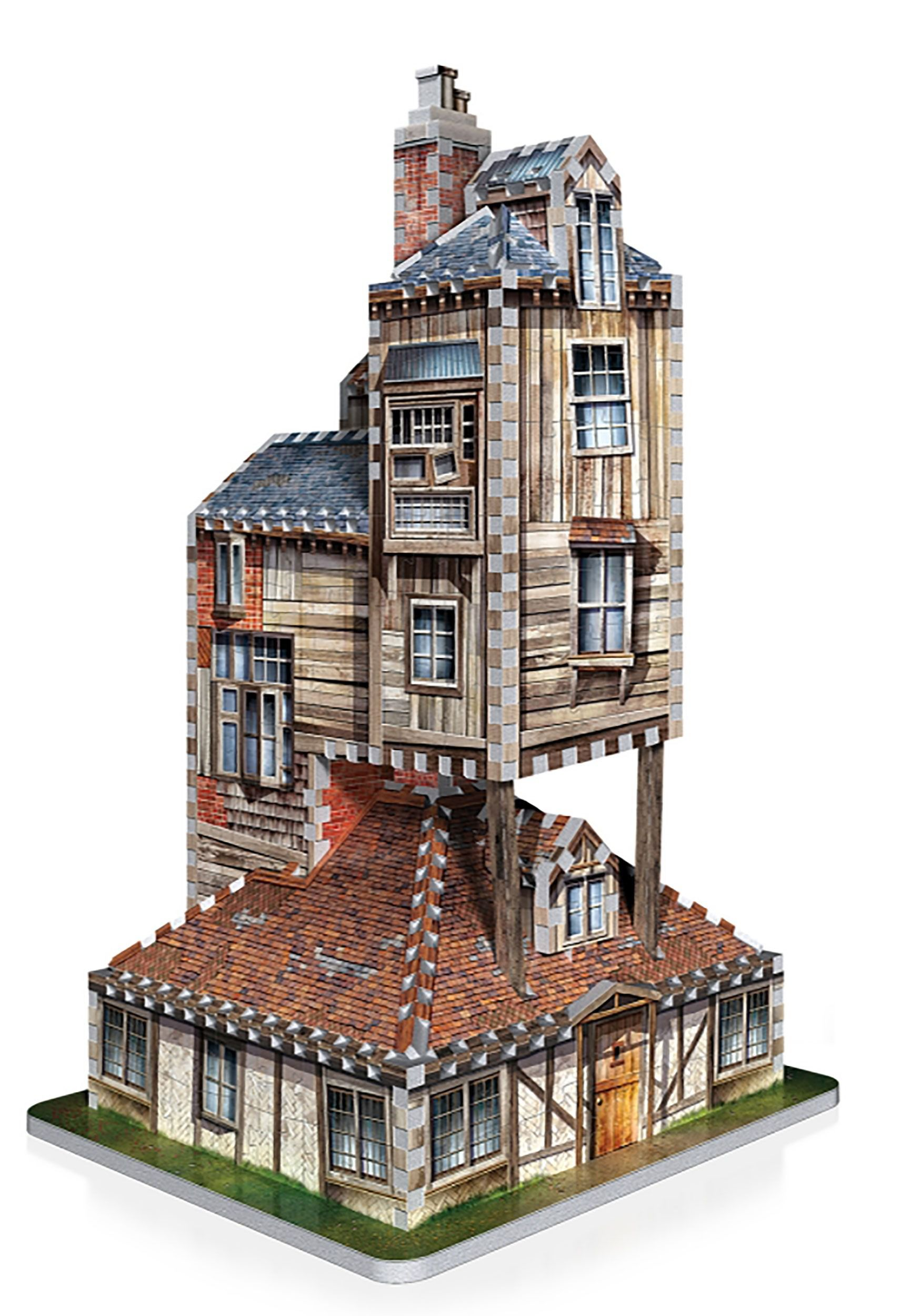 wrebbit-3d-puzzle-harry-potter-burrow-weasley-family-home