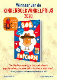 bobpopcorn wint de Kinderboekwinkelprijs